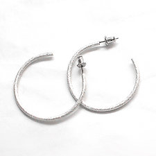 Hoops by Emanuela Aureli (Silver Earrings)