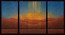 Enchanted Dreamscape 12 by Wolfgang Gersch (Mixed-Media Painting & Giclee Print on Aluminum)