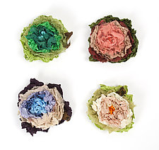 Bloomers Brooch by Amy Brill Sweaters  (Silk Brooch)