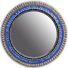 Iris Drop by Angie Heinrich (Mosaic Mirror)