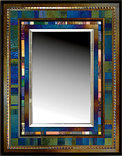 Jazz II by Thomas Meyers (Art Glass Mirror)