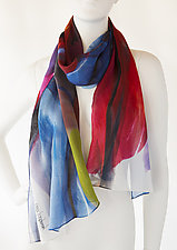 Kaleidoscope by Bette Ridgeway  (Silk Scarf)