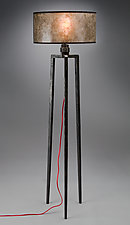 Tripod Floor Lamp by Luke Proctor (Metal Floor Lamp)