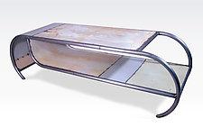 Capsule Coffee Table by Doug Meyer (Metal Coffee Table)