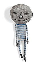 Moonboy Slumber by Bruce Chapin (Wood Wall Art)