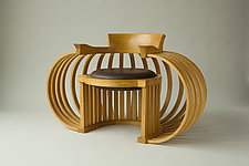 Torus Chair by Reid Anderson (Wood Chair)