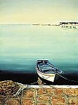 Morning Stillness by Laurie Regan Chase (Giclee Print)
