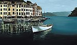 Portofino by Laurie Regan Chase (Giclee Print)