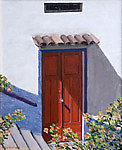 Red Door by Laurie Regan Chase (Giclee Print)