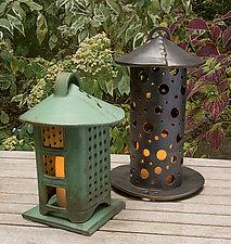 Stoneware Lanterns by Cheryl Wolff (Ceramic Candleholder)
