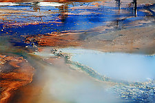 Middle Geyser Six by Geri Brown (Color Photograph)