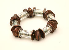 I Have Money Bracelet by Nancy Worden (Copper Bracelet)