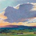 Spring Clouds by Ken Elliott (Giclee Print)