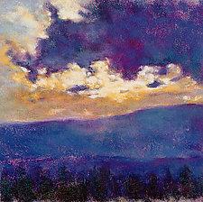 Blue Sunset by Ken Elliott (Giclee Print)