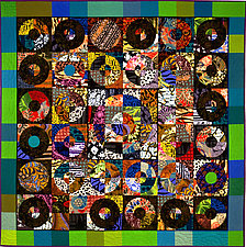 Multitudes by Marilyn Henrion (Fiber Wall Hanging)