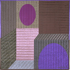Innerspace 7 by Marilyn Henrion (Fiber Wall Hanging)
