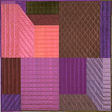 Innerspace 8 by Marilyn Henrion (Fiber Wall Hanging)