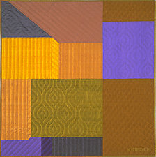Innerspace 9 by Marilyn Henrion (Fiber Wall Hanging)