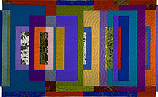 Fugue 2 by Marilyn Henrion (Fiber Wall Hanging)