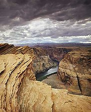 Colorado River at Horseshoe Bend by Will Connor (Color Photograph)