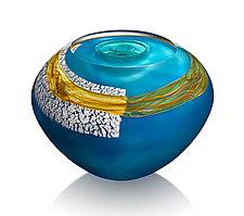 Fontainebleau by Randi Solin (Art Glass Vessel)