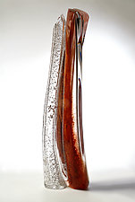 Catalonia Kauri by Randi Solin (Art Glass Sculpture)