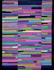 Fault Lines by Marilyn Henrion (Fiber Wall Hanging)