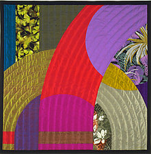 Etude 2 by Marilyn Henrion (Fiber Wall Hanging)
