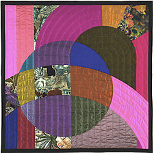 Etude 1 by Marilyn Henrion (Fiber Wall Hanging)