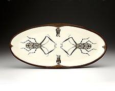 Platter: Harlequin Beetle by Laura Zindel (Ceramic Platter)