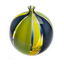 Tessera Sphere by Nicholas Kekic (Art Glass Vessel)