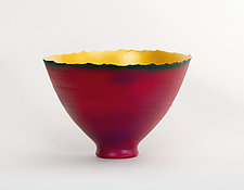Prosperity Bowl (#3) by Cheryl Williams (Ceramic Bowl)