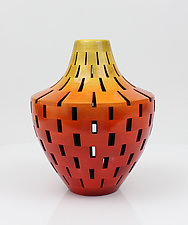 New Eden Vase by Joel Hunnicutt (Wood Sculpture)