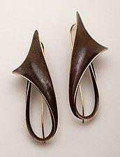 Lily Earrings by Nancy Linkin (Bronze Earrings)