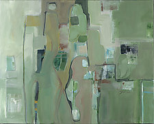 Shades of Green by Carole Guthrie (Acrylic Painting & Giclee Print)
