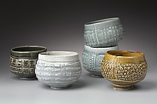 Tea Bowls by Marion Angelica (Ceramic Bowl)