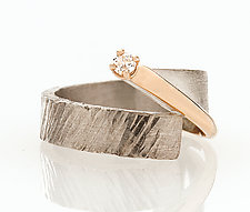 Forever 4 Ring by Dagmara Costello (Silver & Stone Ring)
