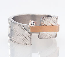 Balancing Ring by Dagmara Costello (Silver & Stone Ring)
