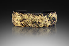Crosshatch Cuff by Pat Flynn (Iron Bracelet)