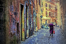 Roma #26v4 2010 by Mel Curtis (Color Photograph)