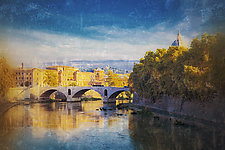Roma #52v8 2010 by Mel Curtis (Color Photograph)