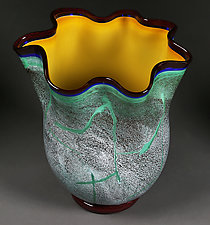 Emerald Isle by Eric Bladholm (Art Glass Bowl)