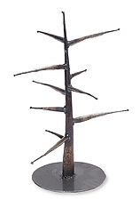 Ornament Tree by Ben Gatski and Kate Gatski (Metal Ornament Stand)