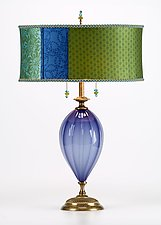 Staci by Susan Kinzig and Caryn Kinzig (Mixed-Media Table Lamp)