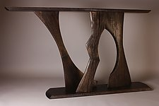 The Space Between by Dean Pulver (Wood Console Table)