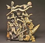 Shore Scape by Nick Edmonds (Wood Sculpture)