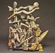 Shore Scape by Nick Edmonds (Wood Sculpture)