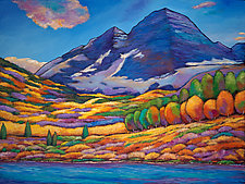 A Day in the Aspens by Johnathan  Harris (Giclee Print)