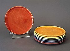 Spectrum Stackers: Plates by Amber Archer (Ceramic Plate Set)