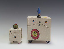 Circle Circle Box by Vaughan Nelson (Ceramic Box)